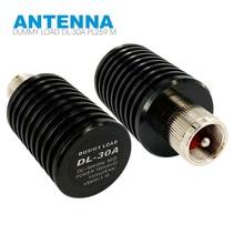 Рация эквивалент нагрузки DL-30A PL259 Мужской 0-500 МГц 15 W Тесты разъем антенны для двухстороннее радио