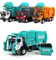 Freeshipping Favorite Model gift,Alloy Material truck, garbage truck,1:24 alloy Engineering Vehicles,Diecast metal cars