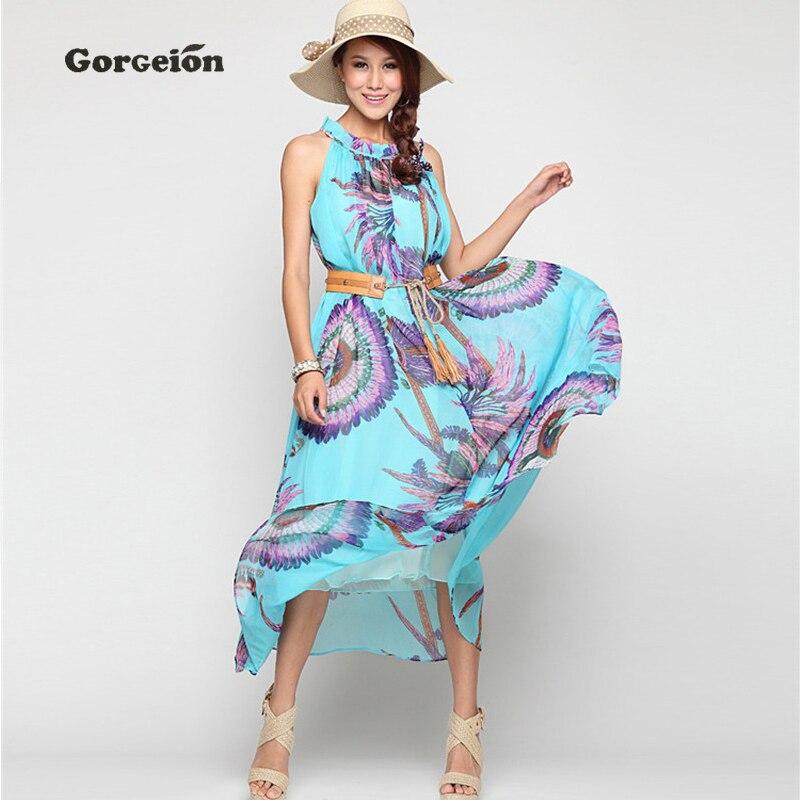 gorgeion women ukraine summer dress 50's plus size long