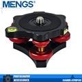 """Mengs LP-64 precisión nivelación Base de cabeza del trípode con 3/8 """" de montaje tornillo de ajuste 3 diales para cámara del trípode ( 14110003401 )"""