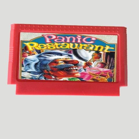 New 8bit 60pin Game card - Panic Restaurant