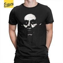 Horror Nosferatu O Vampiro Helloween Camisetas Homens Roupas Confortáveis  Funky T-Shirts Tripulação Pescoço Tee 66e858053f08