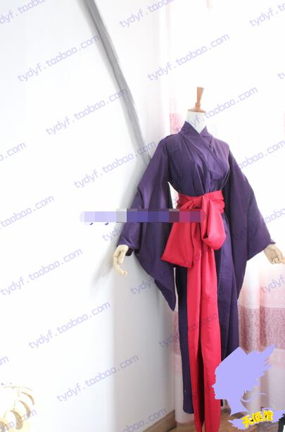 Japanese Anime Basilisk Oboro Kimono Cosplay Costume Halloween Outfit Custom-made