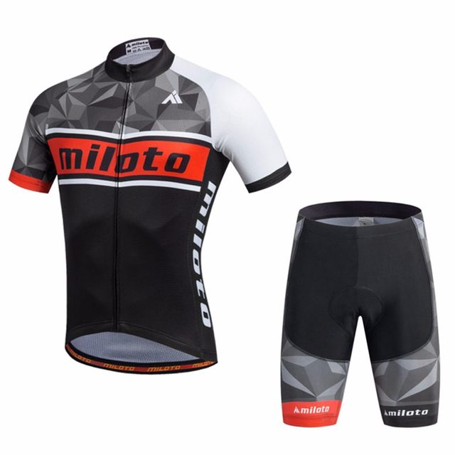 Men s Vintage Cycling Jersey   Compression Mountai Bike Shorts Set Short  Sleeve Reflective Cycling Clothing Kit XS-5XL 21cd2ac2f