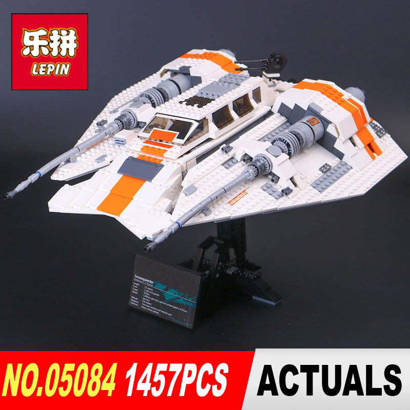 DHL NEW Lepin 05084 Star 1457Pcs Wars The classic Snowspeeder Set Educational Building Blocks Bricks Toys Model as Gifts 10129 in stock lepin 23015 485pcs science and technology education toys educational building blocks set classic pegasus toys gifts