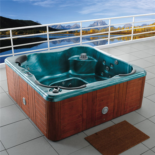 free standing hot tub. Online Shop M 3317 Freestanding Outdoor Luxury SPA Pool Hot Tub Massage  Bathtub For 4 Person Use Bathroom And Hotel Aliexpress Mobile