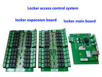 Шкафчик система контроля доступа, управлять 40 шт. замки, tcp/ip commution. Костюм для банка/ванны центра и т. д./Private шкаф, Модель: DT40