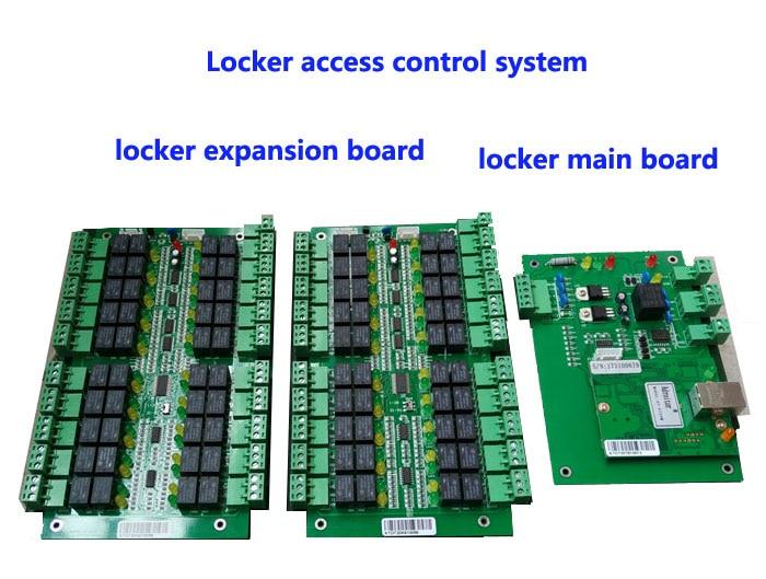 locker access control system ,manage 40pcs locks,TCP/IP commution. suit for bank /bath center etc /private Cabinet ,model:DT40 manage