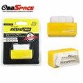 NitroOBD2 Nitro Caixa de Chip Tuning OBD2 Plug And Drive Desempenho Aumentando interface De Chip Tuning Para carros a Diesel Para carros Benzina