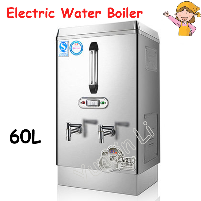 60L Electric Water Boiler Commercial Milk Tea Shop Full Automatic Electric And Energy-Saving Water Heater BST-WS60 hl series desk top commercial water boiler machine milk warmer boiler for coffee bar shop 6 liters