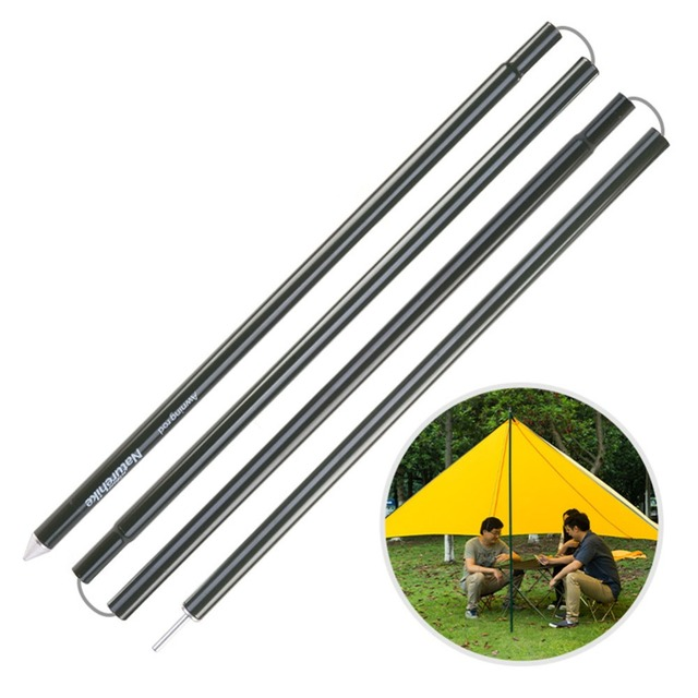 Aluminium Alloy Tent Pole Outdoor C&ing Shelters Adjustable Tarps Poles For Easy Setup  sc 1 st  AliExpress.com & Aluminium Alloy Tent Pole Outdoor Camping Shelters Adjustable ...