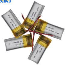 XINJ 5 sztuk 3.7V 110 mAh bateria litowo-polimerowa li-ion 501225 dla słuchawek bluetooth słuchawki głośnik bluetooth inteligentny zegarek mp3