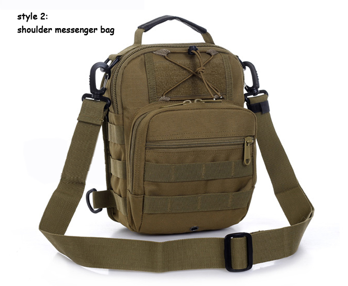 9ffc31e77b Military molle outdoor messenger cross body bags Tactical army triangle shoulder  bag for men and women 1211 Free shipping-in Crossbody Bags from Luggage ...