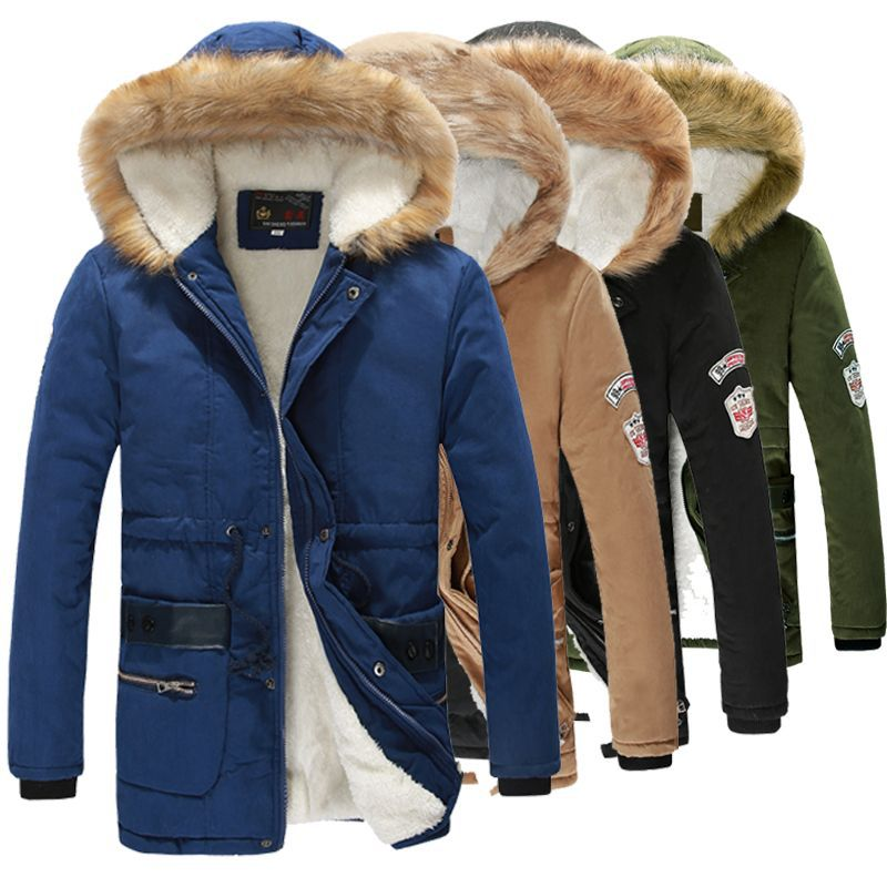 Aliexpress.com : Buy Winter Coats Men Korean Faux Fur Fleece Lined