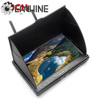 Eachine LCD5802S 5802 40CH Raceband 5 8G 7 Inch Diversity Receiver Monitor With Build In Battery