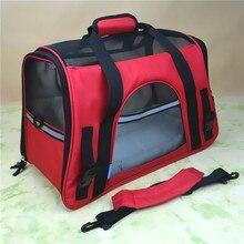 2343196e918e6 Nefes Pet Köpek Taşıyıcı Moda Evcil Çanta Taşınabilir Küçük Kedi  Taşıyıcılar Köpekler Açık Seyahat Çantası Yan Taşıma Çantaları .