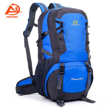 40L Outdoor Sports Mountaineering Bag Waterproof Camping Hiking Travel Backpack A4387