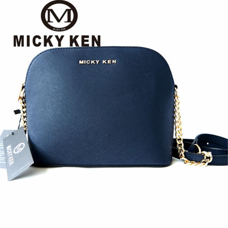 MICKY KEN brand 2017 designer Handbags lady Shell Bags Cross body women messenger bags shoulder bolsa feminina sac a main(China)
