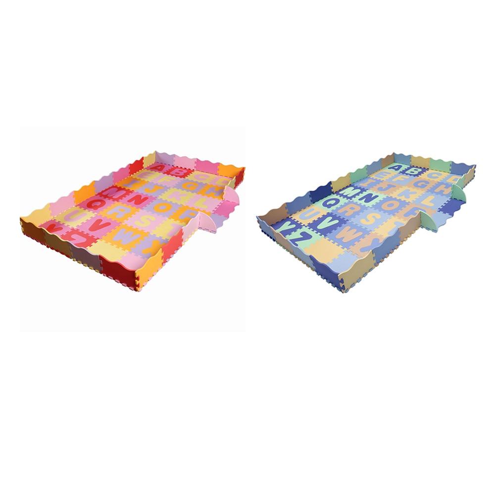 Tapis de jeu de Puzzle de mousse d'eva de bébé/tapis d'enfants joue le tapis pour les tuiles de plancher d'exercice de verrouillage d'enfants - 5