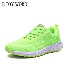 E TOY WORD Women Leisure Breathable Sneakers Sport Shoes Ladies Casual Walking green sneakers lightweight training sneakers sneakers e goisto sneakers