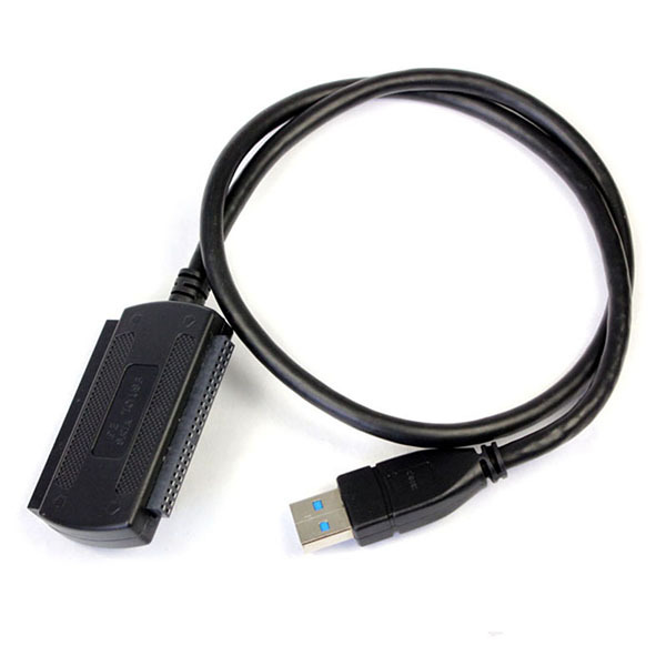 "Newest 3-in-1 USB 3.0 to IDE/SATA 2.5"",3.5""  Hard Drive Disk HDD Converter Adapter Cables -SATA IDE to USB 3.0 Black"