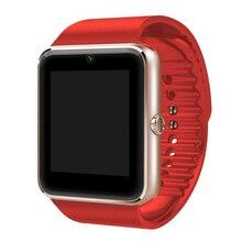 LiuKer GT08 Smart Uhr Sync Notifier Unterstützung Sim-karte Bluetooth Konnektivität Für iphone Android Telefon Smartwatch Uhr
