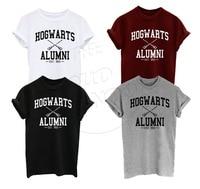 2016 Summer T Shirt Hogwarts Alumni Harry Potter Inspired Magic Camisetas Tees American Apparel Harajuku T