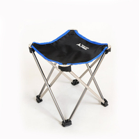 DST Aluminium Alloy Camping Hiking Foldable Chair Folding Fishing Picnic BBQ Garden Chair Seat Outdoor Tools