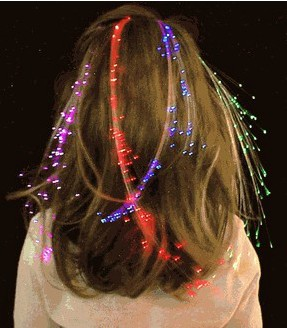 Glow in the dark hair extensions images hair extension hair 48pcslot 35cm led colorful glowing in the dark flash braid hair 48pcslot 35cm led colorful glowing pmusecretfo Choice Image