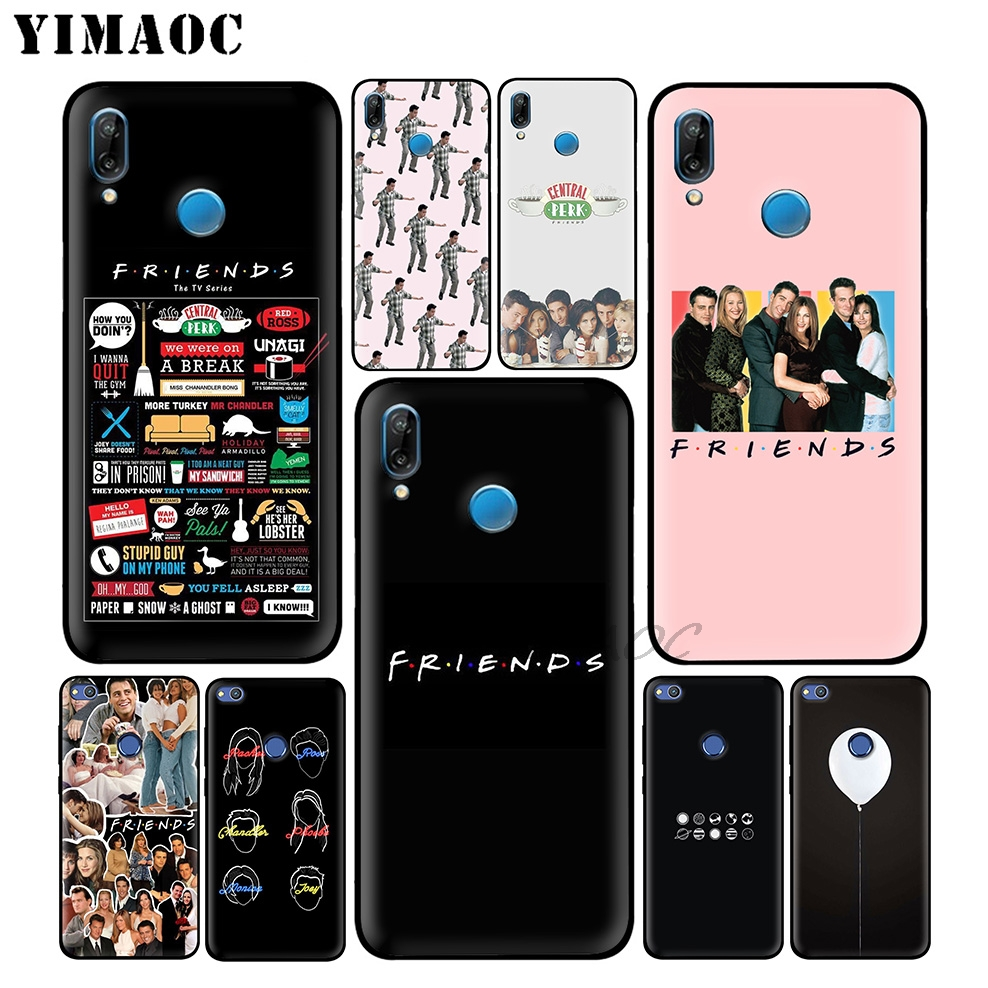 YIMAOC Friends Tv Show Funny Soft Case For Huawei P30 P20 Pro P10 P9 P8 2015 2017 P Smart Plus Z 2019 Nova 5i 4 3 3i 2i Lite image