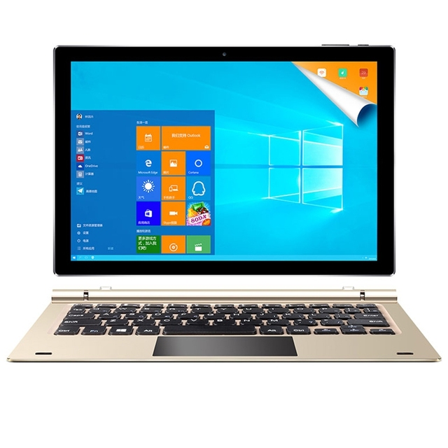 Teclast Tbook 10s Windows 10+Android 5.1 Intel Cherry Trail Z8350 Quad Core 4GB/64GB 10.1″ 1920*1200 2 in 1 Tablet PC