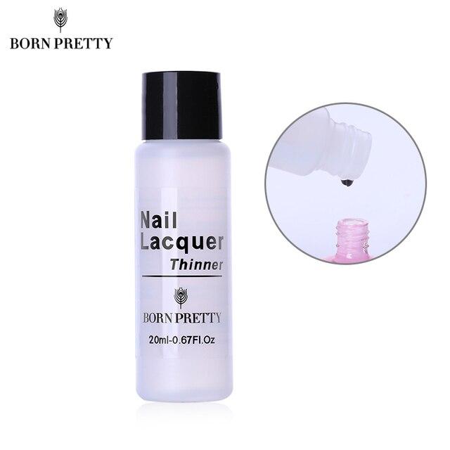BORN PRETTY Nail Polish Thinner 20ml Lacquer Varnish Thinner ...