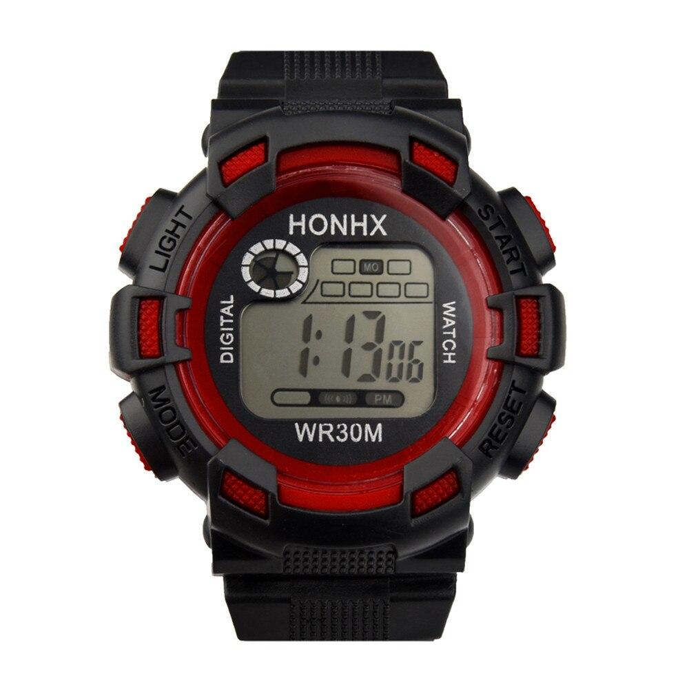 Waterproof Watches Quartz Digital Sport Led Military Silicone Men Fashion Analog Pt4