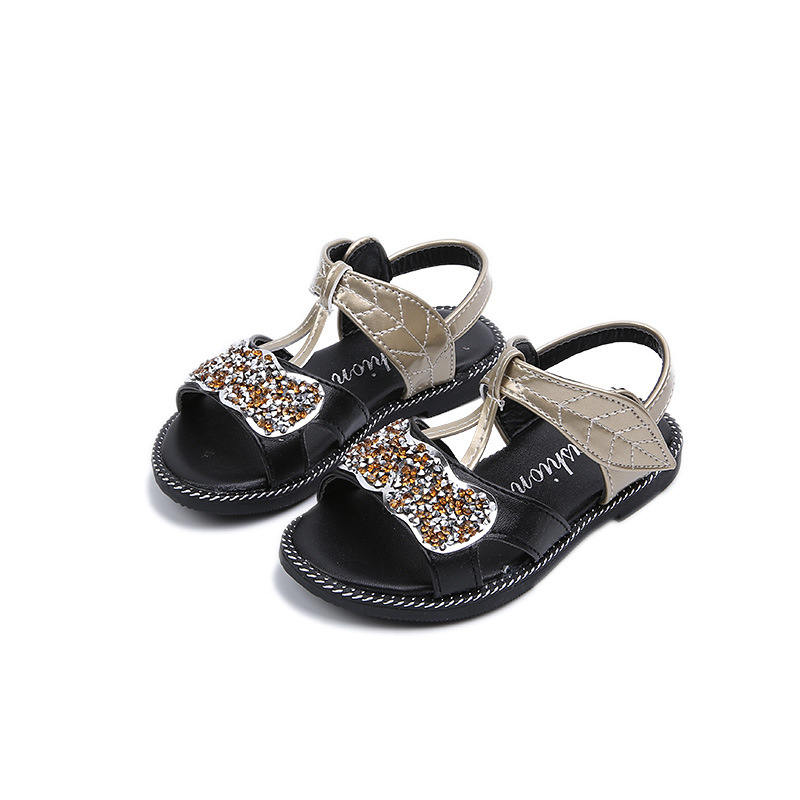 2018 Summer Baby Girls Sandals Children Casual Sandals Fashion Soft Bottom Kids Beach Shoes Student Princess Shoes