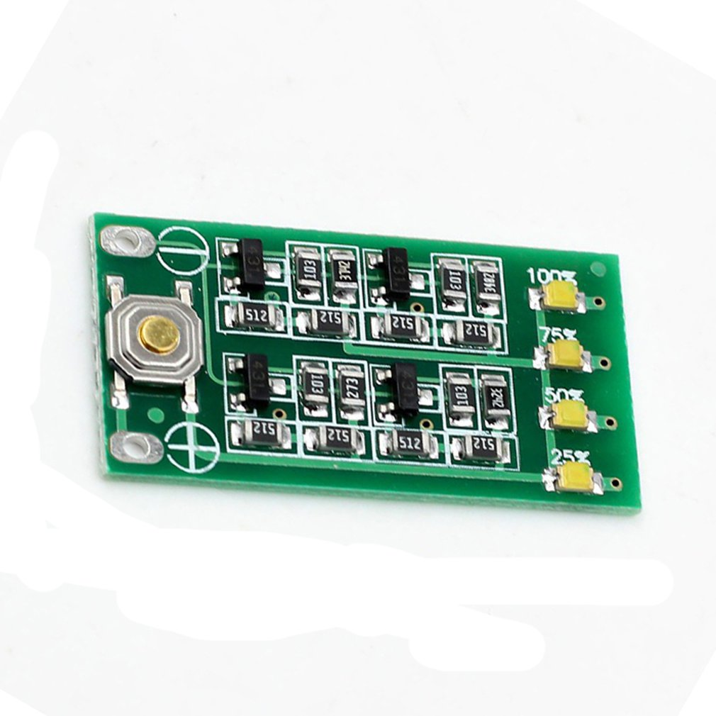 12.6V Lithium Battery Capacity Display Board 3 String 11.1V 12V 12.6V Lithium Battery Power Display Panel