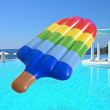 New Inflatable Popsicle Pool Floats Summer Swimming Party Ring Adult Kids Fun Water Floating Island Buoy Raft Toy Pontoon(China)