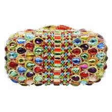 Handtasche Frauen Hochzeit Tasche luxus diamant partei handtaschen frauen sac pochette Shiny hochzeit braut 88253