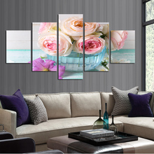 Home decoration wall painting art gift flowers print on canvas to print the painting effect poster adornment picture FA229