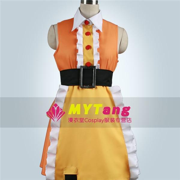 Anime Kagerou Project Mekaku City Actors MOMO Uniform Party Cosplay Costume Dress+Blets