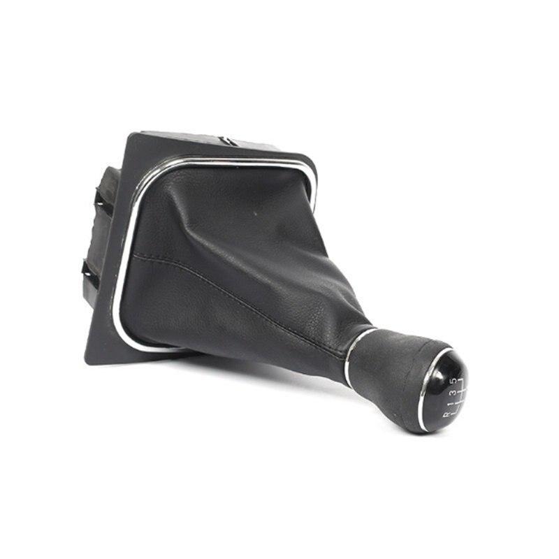 Image 5 - MT ручка переключения передач для Volkswagen VW Golf 5 6 Golf5 Golf6 рычаг переключения передач Ручка кожаный Gaitor Boot база рамка ручка-in Ручка переключения передач from Автомобили и мотоциклы