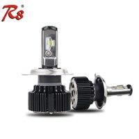 T1 Upgrade Version Car T6 LED Headlight Kits 60W 8000LM H1 H4 H7 H11 HB3 HB4