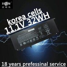 New 32Wh Genuine WR03XL Battery for HP TPN-Q133 WR03032XL HSTNN-XXXX HSTN-IB5J 725497-1B1 725497-1C1 3ICP3/97/91 batteria akku