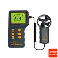 Anemometer Air Flow Meter Wind Speed Gauge AR826
