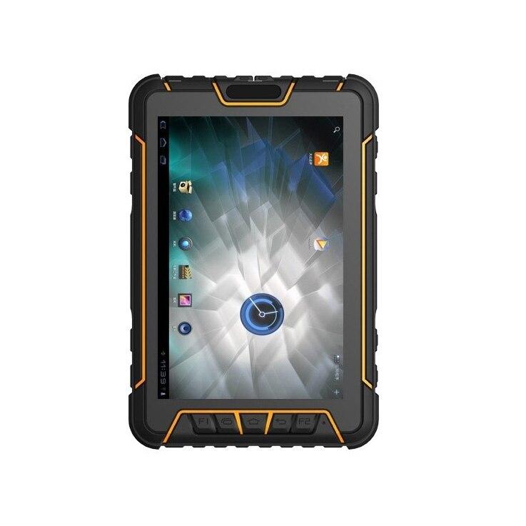 7 PDA terminal De données Portable UHF RFID 2D Laser Barcode Scanner NFC Robuste Tablet PC Antichoc Android 5.1 Données collecteur GPS