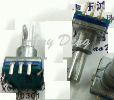 20pcs/lot South Korea Encoding Switch 30 Locaon Number 15 Pulse 17mm Fork Shaft Of Rotary Encoder Switch In Many Styles Electronic Components & Supplies