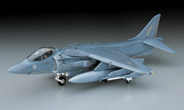 Modèle de montage jouets 1: 72 les états-unis AV-8B II harrier II avion