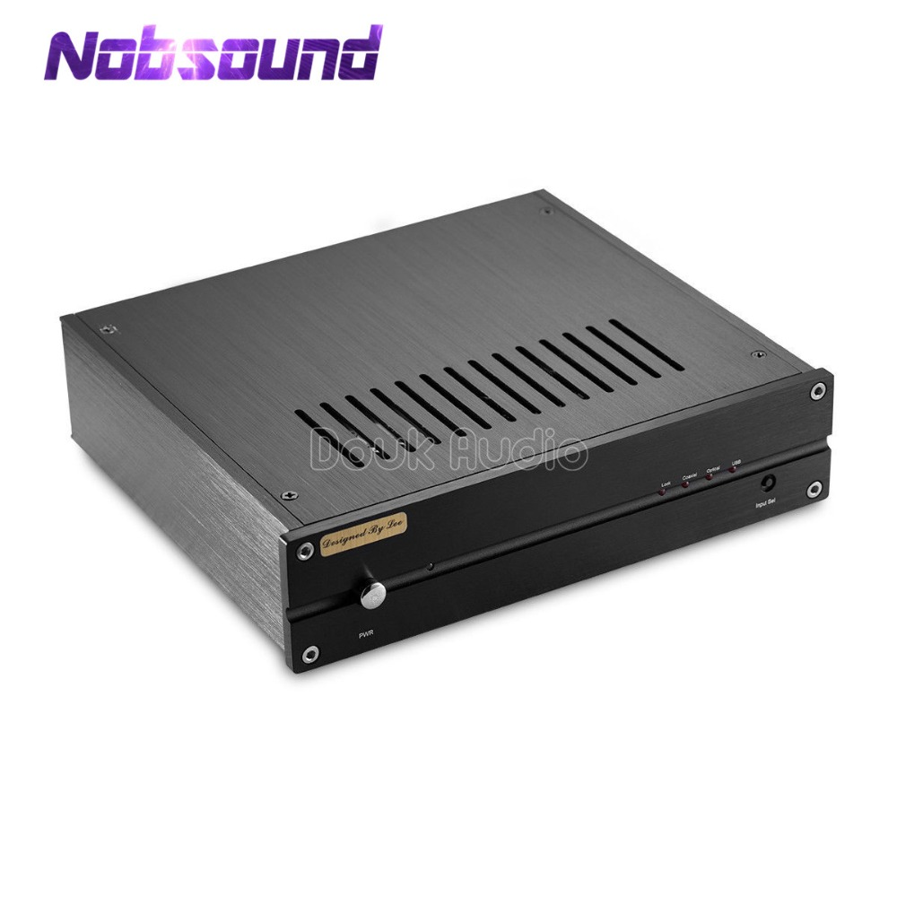 Nobsound Hi-end HiFi TDA1543 DAC Digital Audio Decoder With SA9227 USB Card DSD 32bit/384K musiland 01us mark2 usb hifi external sound card hardware decoding dsd support 32bit 384khz