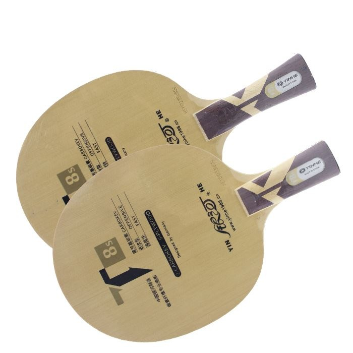 Galaxy / Milky Way / Yinhe T-8s [T8] T8s cypress carbon Table Tennis Blade for PingPong Racket for 40+ new material balls table
