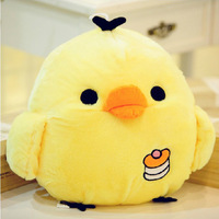 2015 Funny Lovely Small 20cm Yellow Chicken Children Plush Toy Dolls Cushion Pillow Birthday Christmas Gifts