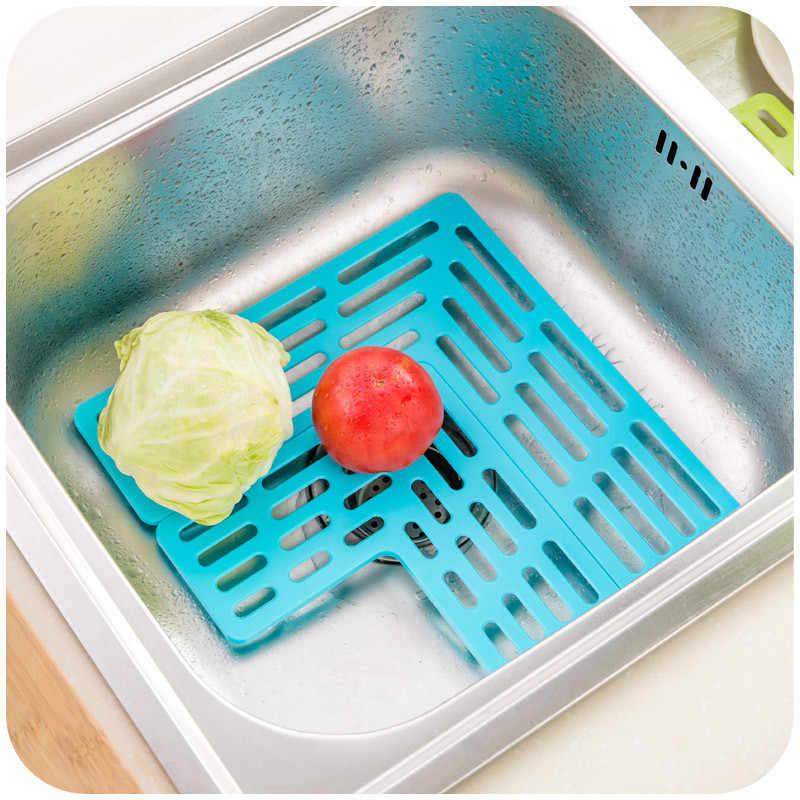 Kombination Pia Prateleira Pia Da Cozinha de Sabão Esponja Acessórios de Lavagem De Drenagem Filtro Net Tapete Máquina de Lavar Louça Copo Dreno de Sucção de Armazenamento Pad